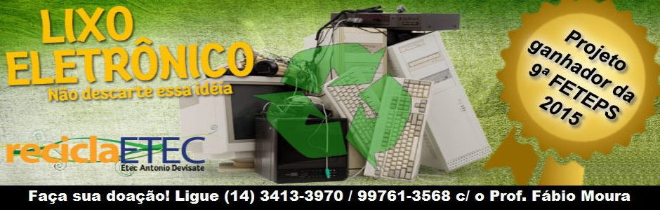 Projeto ReciclaEtec