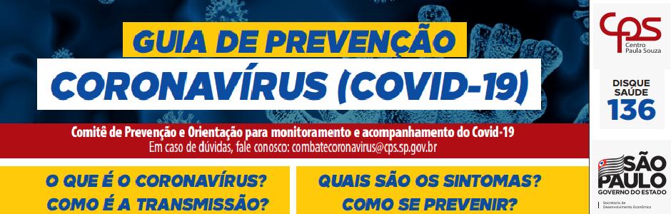GUIA PREVENÇÃO COVID19